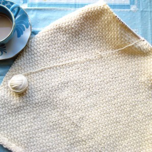 Lacey Knit Baby Blanket – First Peek!