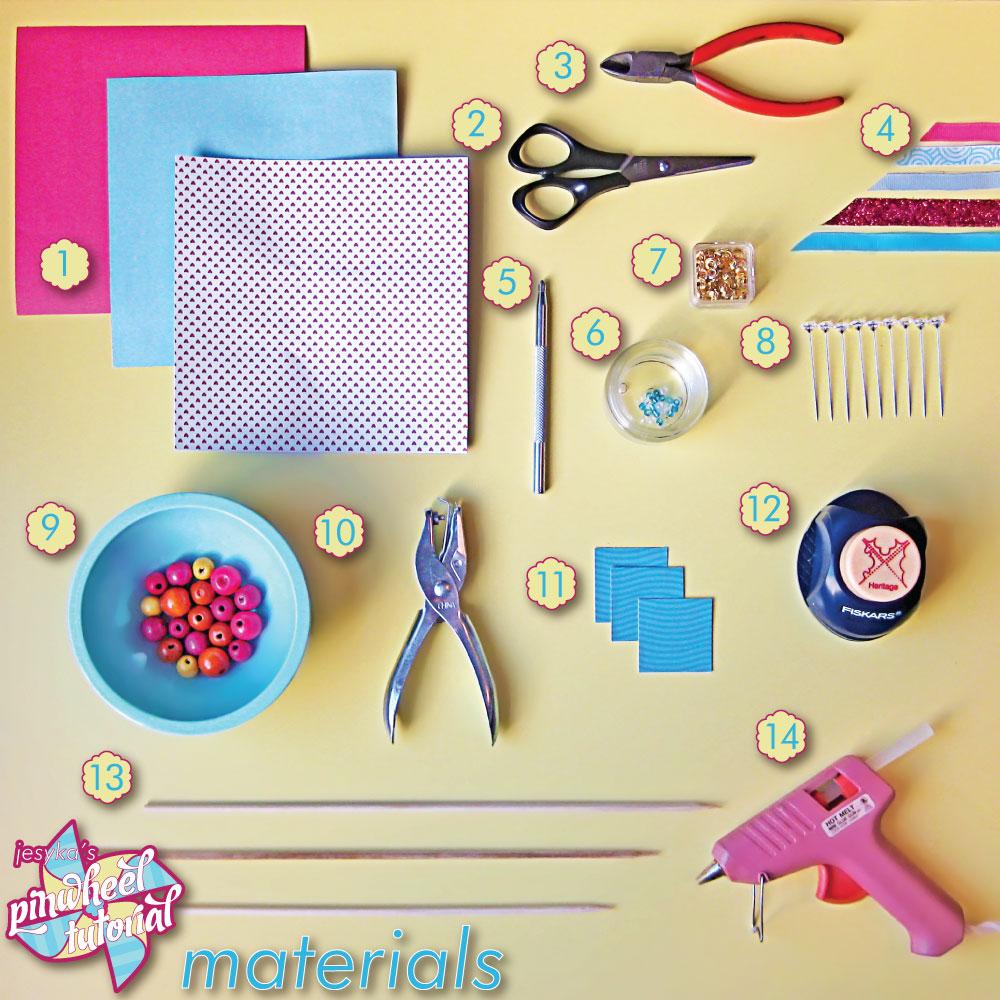 How to scrapbook materials - 1 Paper