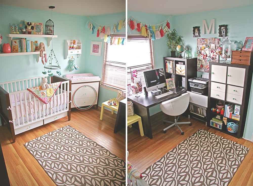 Keeping up visual vocabularie - Baby room ideas small spaces property ...