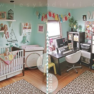 Nursery|Office Room Tour