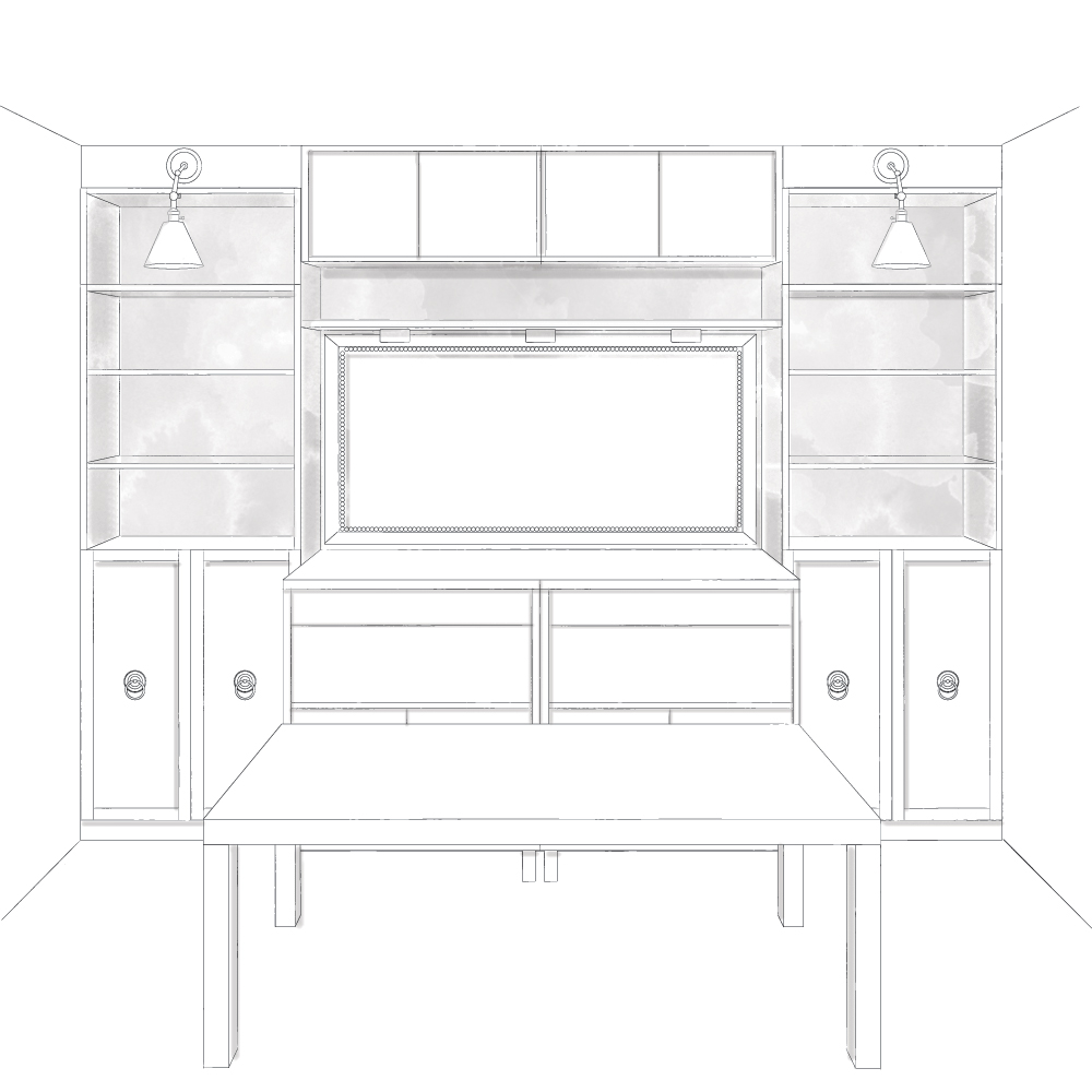 Plans Built In Entertainment Center All Woodworking