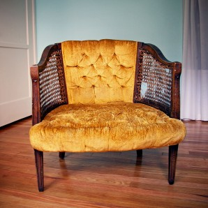 Rescue Mission: A Curbed Chair Makeover Begins!