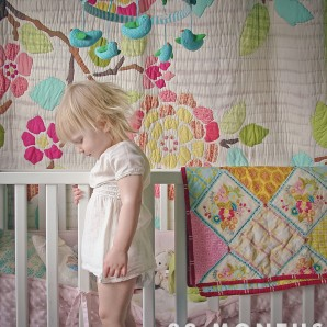 22 Mos; napping in her crib!