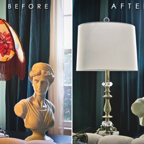 Before + After: Antique Lamp