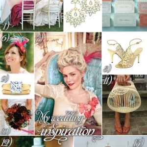 My wedding: Inspiration!