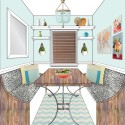 My Kitchen Makeover: Nook Sketches