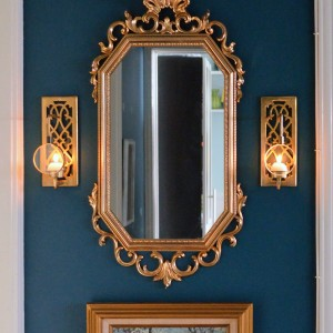 Brass Sconces from the Flea Market