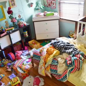 Big Girl Bedroom, Day 1