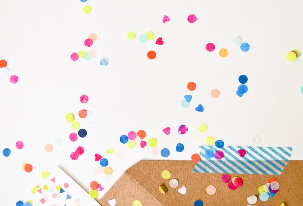 Confetti-Detail
