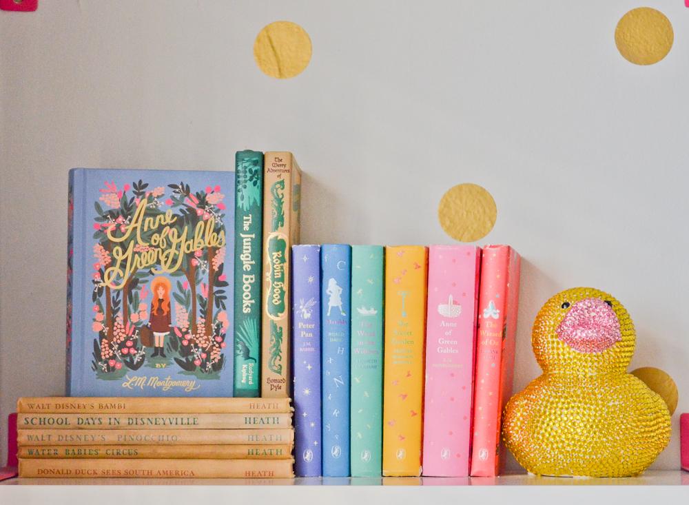 Puffin Books Anna Rifle Bond Vintage Disney Books