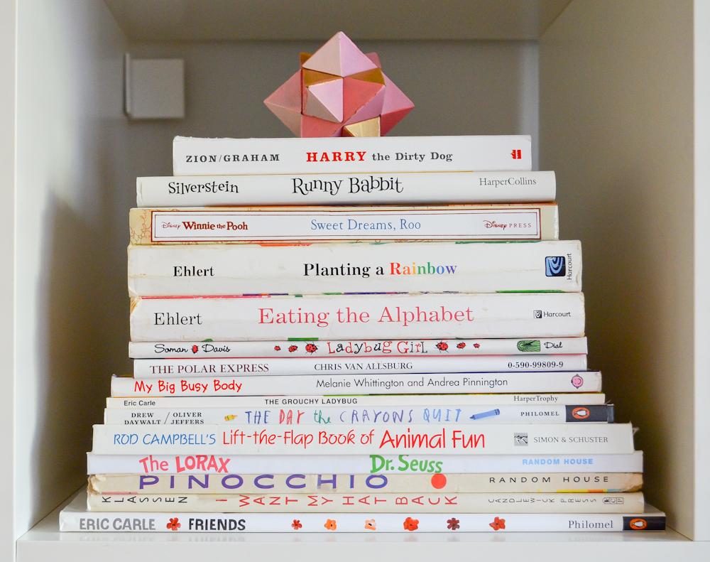Children's Book stack