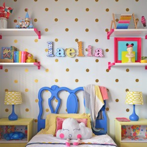 Laelia's Big Girl Room