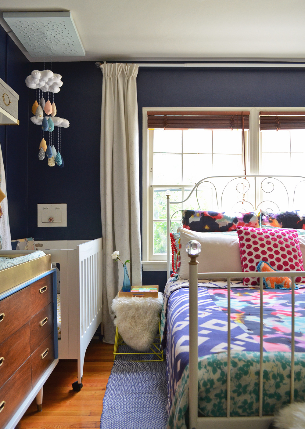 Master Bedroom Nursery Combo our bedroom and nursery combo | visual vocabularie