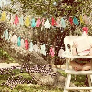 Laelia's First Birthday